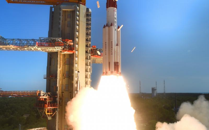 PSLV-C34 Take Off - View 7