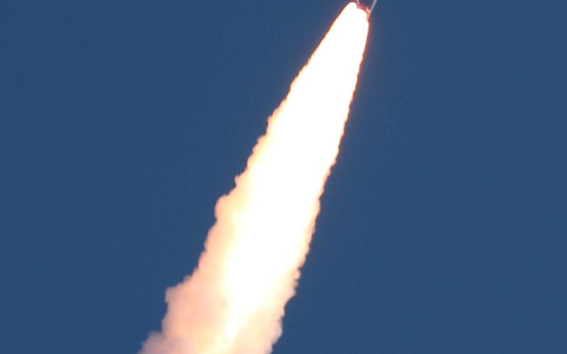 PSLV-C51 Lift-off