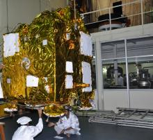 Spacecraft Testing - View 3