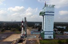 Panaromic view of First Launch Pad with PSLV-C25 during launch rehearsal