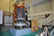 Cartosat-2 Series Satellite undergoing Vibration Test