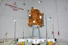 Cartosat-2 Series Satellite undergoing Accoustic Test