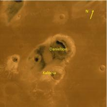 Danielson and Kalocsa - Craters on the planet Mars
