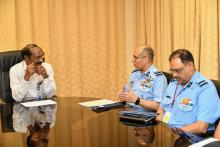 MoU signed between ISRO and IAF