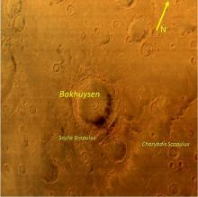 MCC Image of Bakhuysen Crater