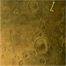 Eridania Quadrangle of Mars