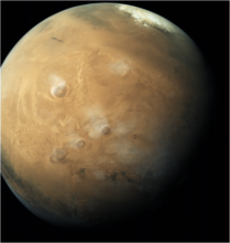 Global Shot of Mars