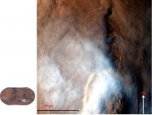 Olympus Mons Water ice Clouds