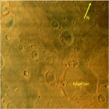 Tyrrhenum quadrangle of Mars
