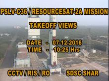PSLV-C36 / RESOURCESAT-2A Launch Video