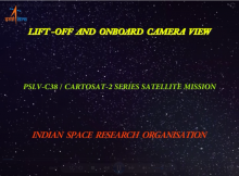 PSLV-C38 Liftoff and Onboard Camera Video