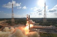 PSLV-C48 Liftoff and onboard camera view