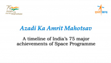 A timeline of India's 75 major achievements of Space Programme