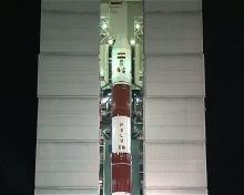PSLV-C16 on Launchpad - video