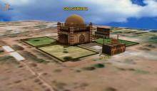 3D Digital model of Gol Gumbaz – one of the largest dome structure in the world