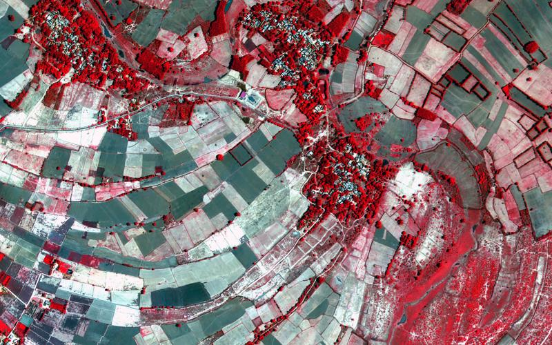 Latest Images from Cartosat -2 Series Satellite