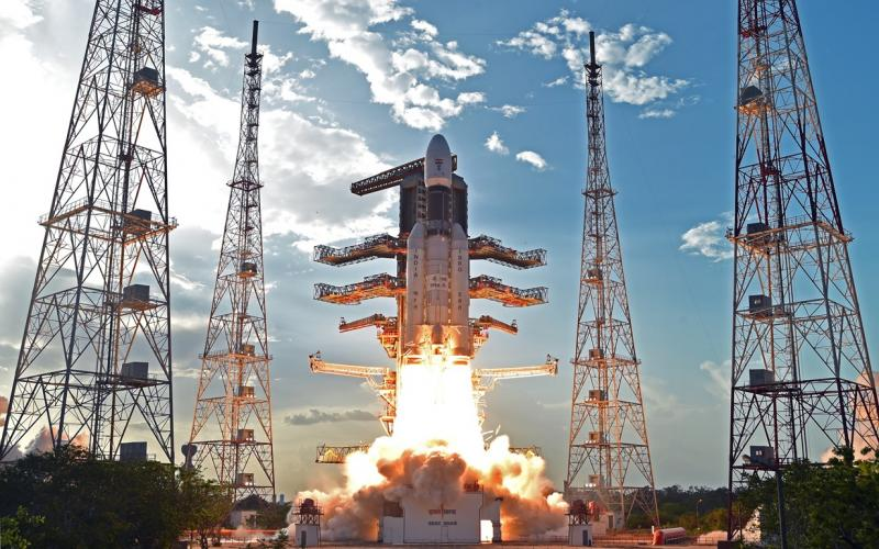 GSLV Mk III-D1 Tracking and Onboard Camera Video