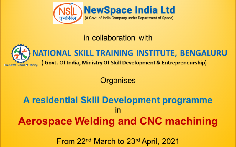 List for the candidates selected for NSIL Skill Development Programme-2021