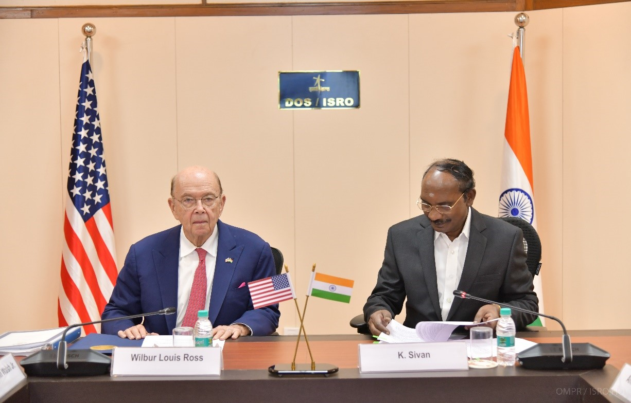 US Secretary of Commerce visited ISRO